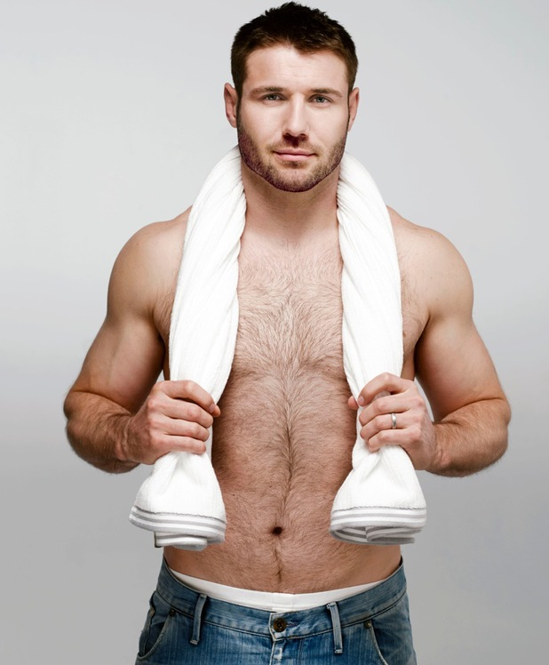 Ben Cohen poses for Persil