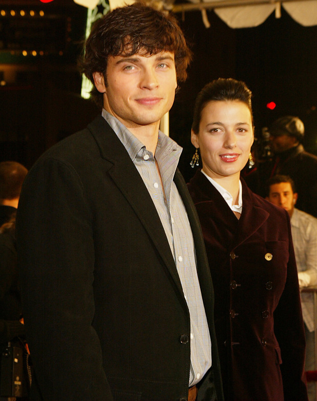 Tom Welling and wife Jamie White Welling