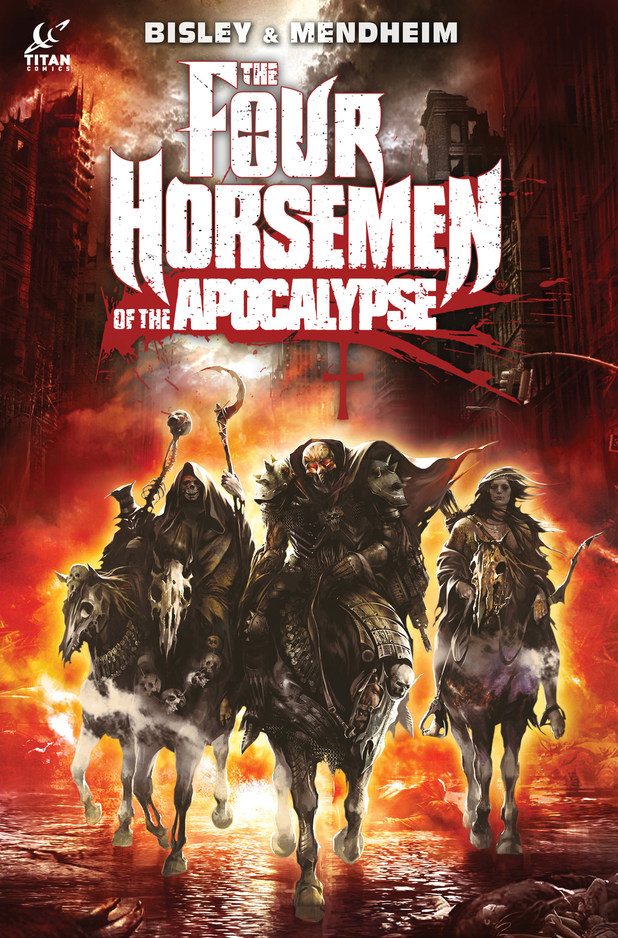 Titan's 'The Horsemen of the Apocalypse' cover