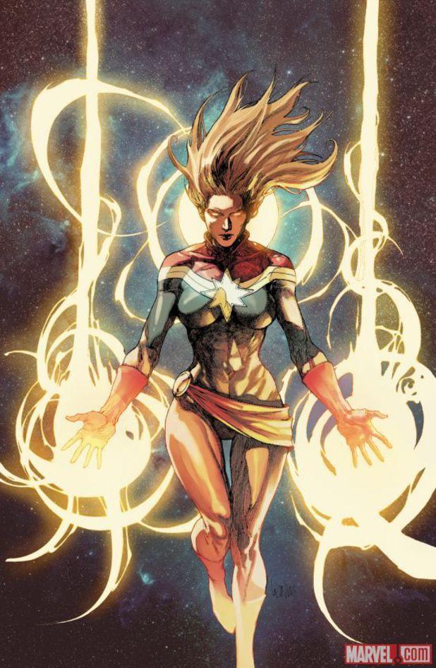 Captain Marvel relaunch promo