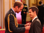 Prince William grants Andy Murray OBE