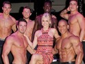 Stars turn out for the male strippers' 2014 calendar launch.