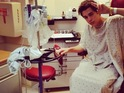 "Austin Mahone writes that he has ""never felt so bad"" from his hospital bed."