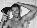 Rugby star gets his kit off after being honored by Attitude for his LGBT campaigning.