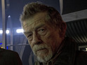 Moffat talks Hurt's role in the Doctor Who 50th special.