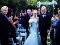 Jane Lynch, Steven Tyler and John Stamos attend Matt Sorum's wedding.