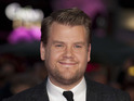 James Corden says that the Brit Awards are very male-dominated.