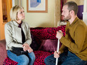 Nick and Leanne's marriage comes under further strain on Christmas Day.