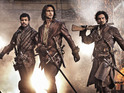 See Aramis, Athos, Porthos and D'Artagnan in new action shot from BBC One drama.