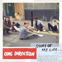 One Direction 'Story of My Life' single artwork.