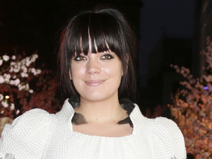 Lily Allen at the gala screening of Saving Mr Banks, the closing film of the 57th BFI London Film Festival at Odeon Leicester Square, London.