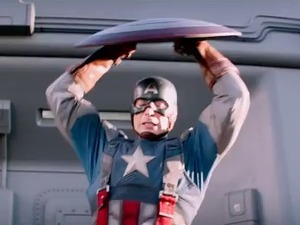 'Captain America' teaser screenshot