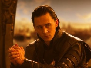 Tom Hiddleston as Loki in 'Thor'