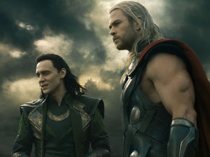 Loki and Thor in 'Thor: The Dark World'
