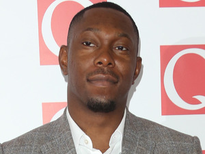 Dizzee Rascal arriving at The Q Awards 2013 at Grosvenor House