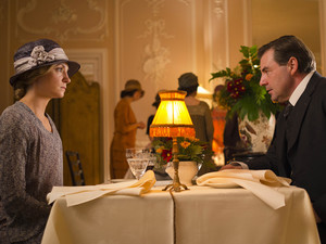 Joanne Froggatt as Anna and Brendan Coyle as John Bates in 'Downton Abbey' Season 4 Episode 6