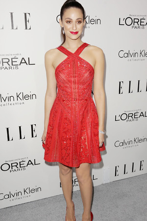 Emmy Rossum Elle Magazine 20th Annual Women in Hollywood, Los Angeles, America - 21 Oct 2013