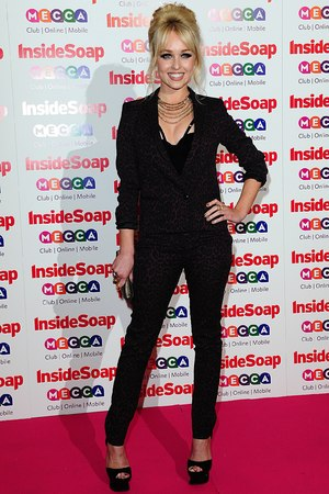 Jorgie Porter at the 2013 Inside Soap Awards, Ministry of Sound, London.