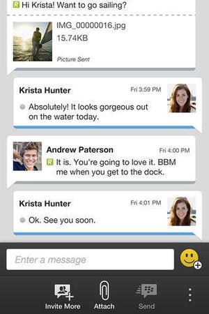 Blackberry BBM app