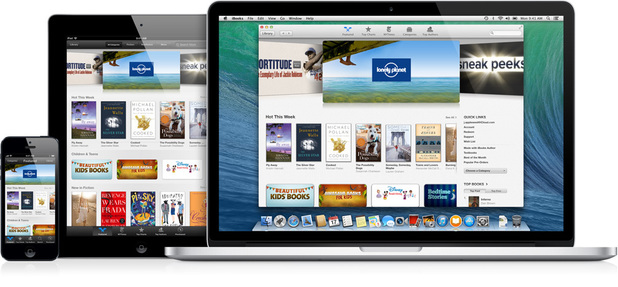 The Apple iBooks store
