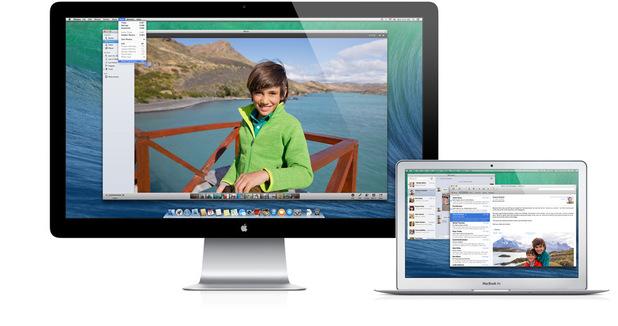 Multiple Displays on OS X Mavericks