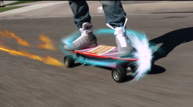 'Back to the Future' hoverboard