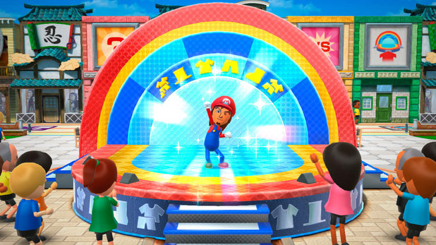 Nintendo Wii Party U screenshot