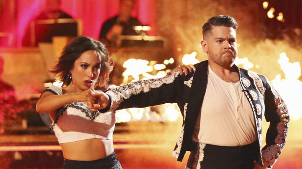 Cheryl Burke & Jack Osbourne on 'Dancing With The Stars' week 6