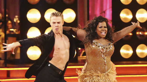 Derek Hough & Amber Riley on 'Dancing With The Stars' week 6