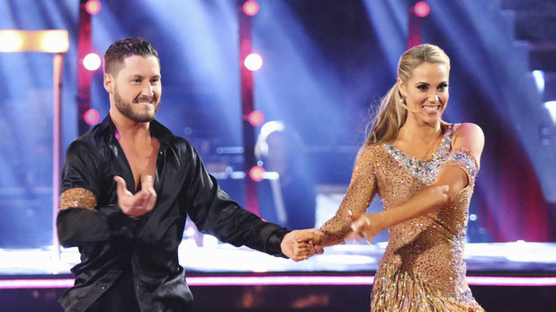 Val Chmerkovskiy and Elizabeth Berkley Lauren on 'Dancing With The Stars' week 6