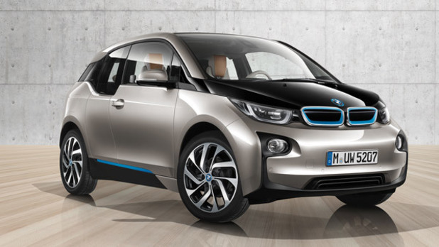 The BMW i3 car