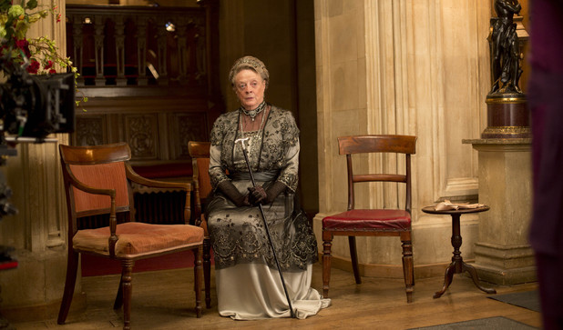 Maggie Smith as Violet, Dowager Countess in 'Downton Abbey' Season 4 Episode 6