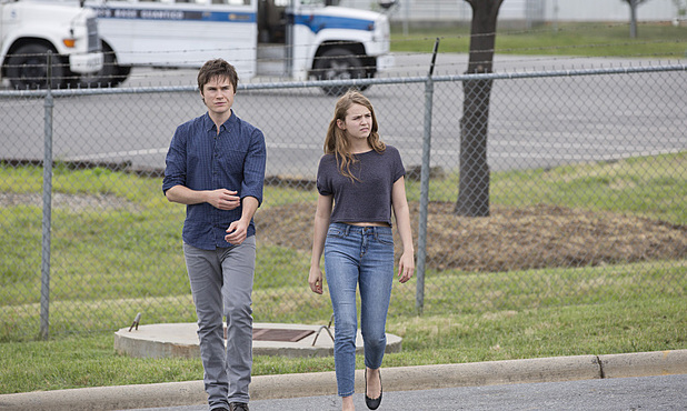 Sam Underwood as Leo Carras and Morgan Saylor as Dana Brody in Homeland Season 3 Episode 4: 'Game On'