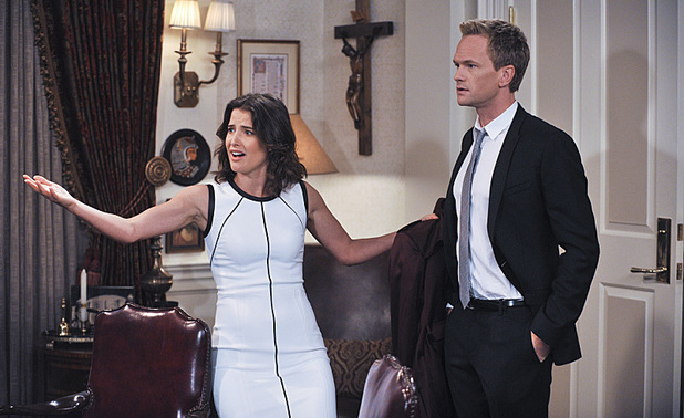 Robin and Barney confront their minister in How I Met Your Mother: 'Knight Vision'