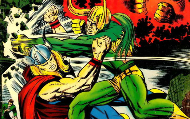 Jack Kirby's Thor and Loki