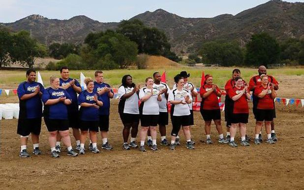 The Biggest Loser S15E02: The contestants during the Dice Challenge