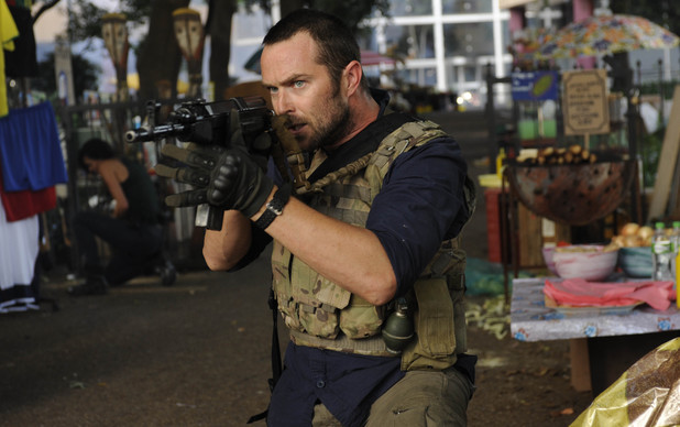 Sullivan Stapleton as Sgt. Damien Scott in Strike Back: 'Shadow Warfare' (Season 4)