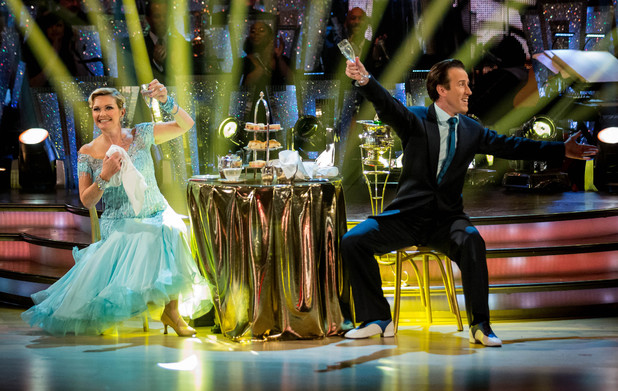Fiona and Anton dance the Quickstep