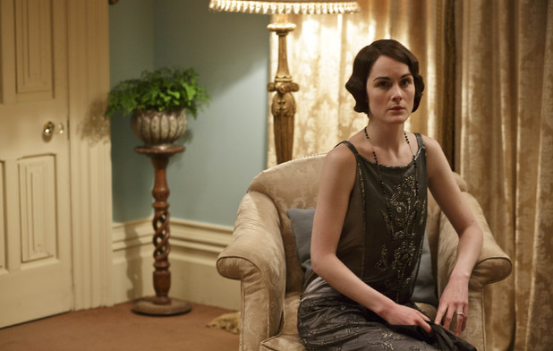 Michelle Dockery as Lady Mary in 'Downton Abbey' Season 4 Episode 6