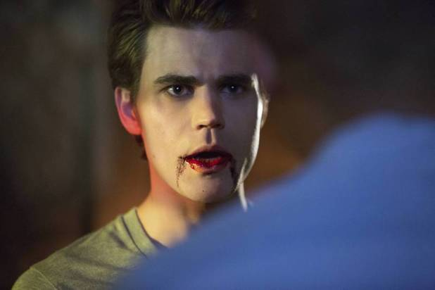 Paul Wesley as Stefan in The Vampire Diaries S05E04: 'For Whom The Bell Tolls'