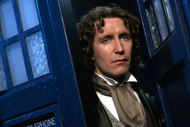 Paul McGann as the eighth Doctor in 'Doctor Who'.