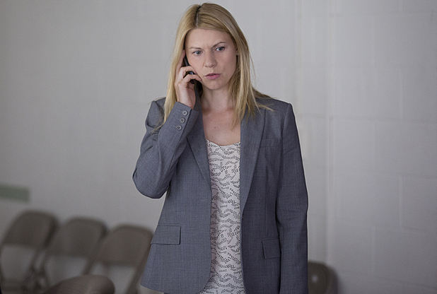Claire Danes as Carrie Mathison in Homeland Season 3 Episode 4: 'Game On'