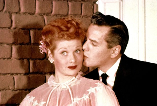 Lucille Ball & Desi Arnaz in 'I Love Lucy'