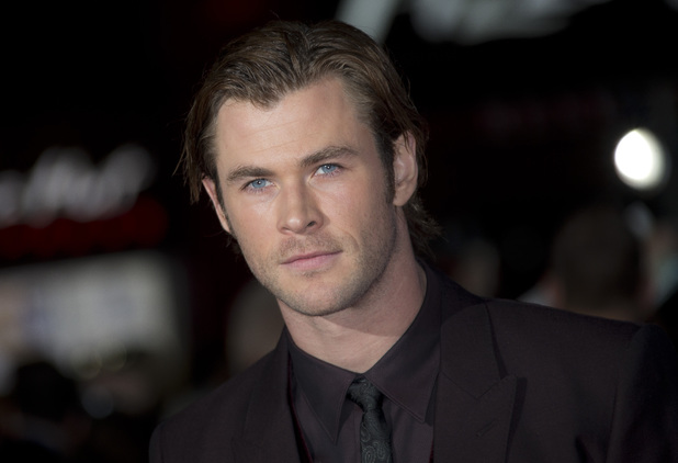 Chris Hemsworth at the World Premiere of Thor: Dark World, at the Odeon Leicester Square, London.