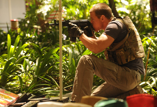 Philip Winchester as Sgt. Michael Stonebridge in Strike Back: 'Shadow Warfare' (Season 4)