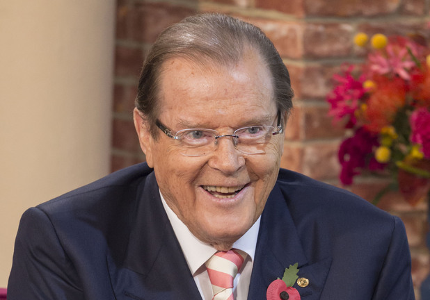 Sir Roger Moore on ITV's 'This Morning'