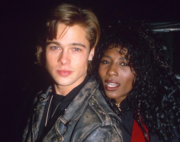 SMASH HIT AWARDS PARTY, LONDON, BRITAIN - 1988 Sinitta and Brad Pitt 1988