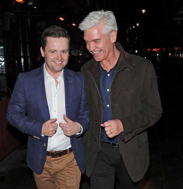 Dec and Phillip Schofield