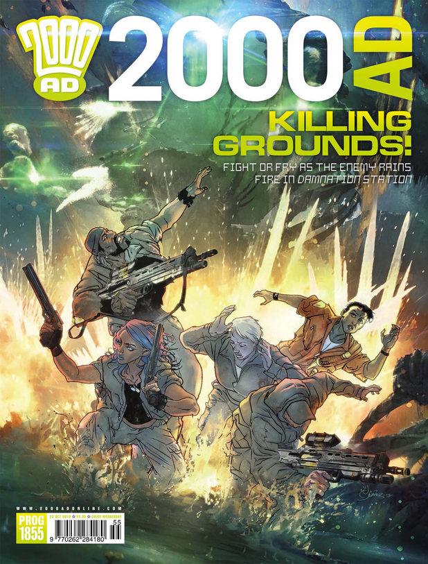 '2000 AD' Prog 1855 cover