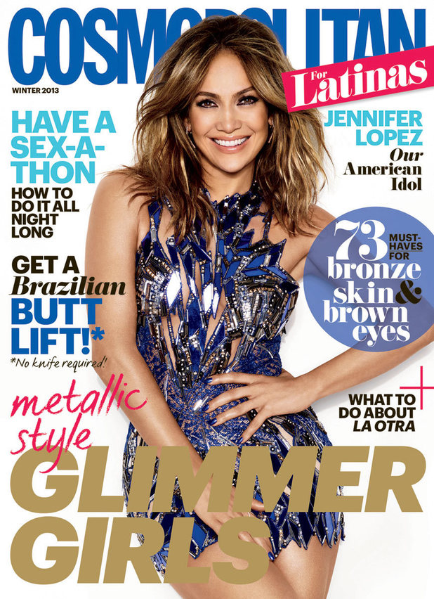 Jennifer Lopez in the Winter 2013 issue of Cosmo for Latinas